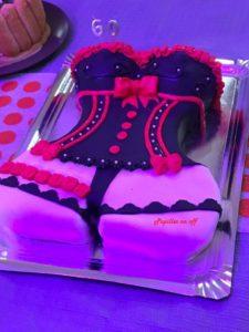 Gâteau Femme Sexy Gâteau Corset En Pâte à Sucre Au Thermomix Ou