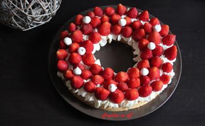 tarte aux fraises et la cr me au mascarpone vanill e au. Black Bedroom Furniture Sets. Home Design Ideas